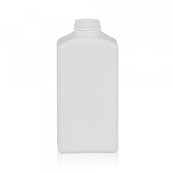250 ml bottle Standard Square HDPE white 28.410