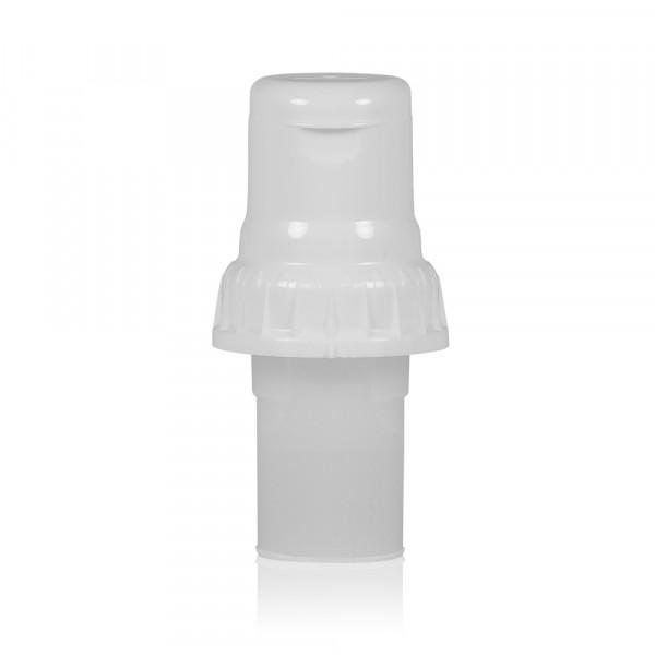 One2Dose Liquid Dosingcap PP 20 ml white