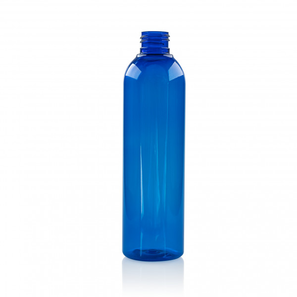 250 ml bottle Basic Round PET Blue 24.410