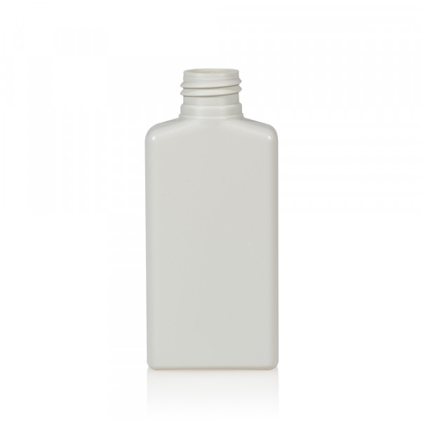 100 ml bottle Mailbox Square HDPE white 24.410