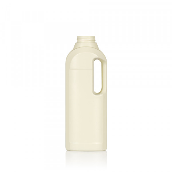 1000 ml bottle Multi Recycled HDPE Ivory 567