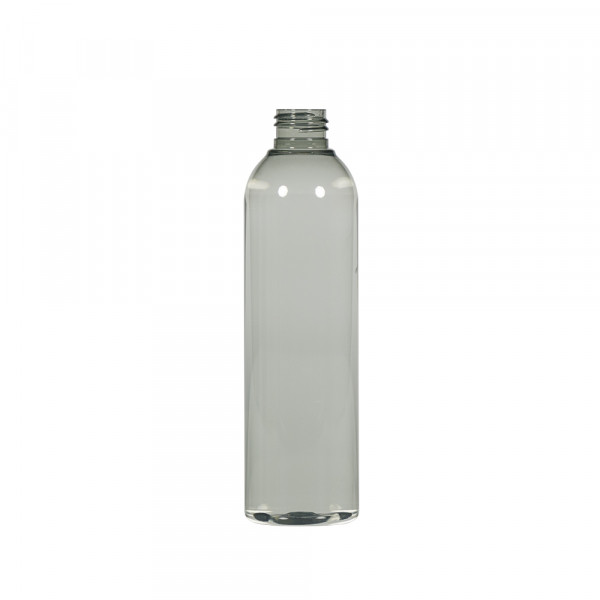 250 ml bottle Basic Round Recycled PET transparent 24.410