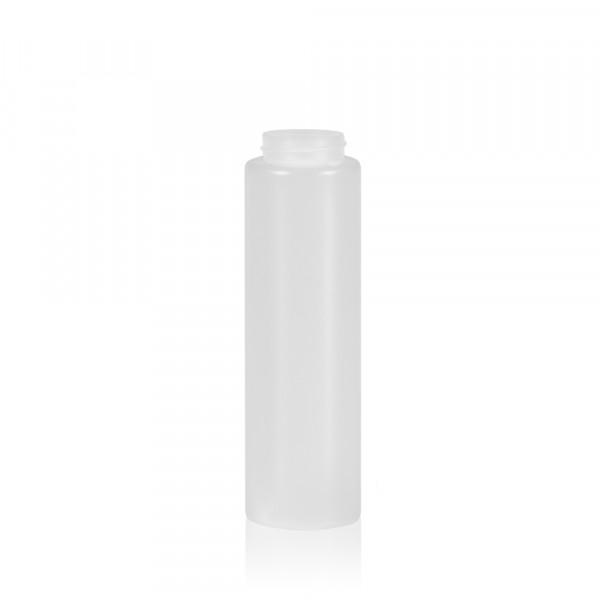 250 ml bottle Sauce Round MIX LDPE/HDPE natural 38.400