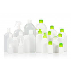 Basic oval PE bottles