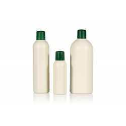 100% Recycled Basic Round R-HDPE bottles