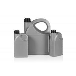 Oil PE bottles