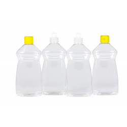 Wash PET bottles