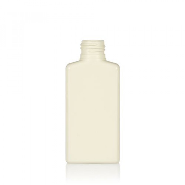 100 ml bottle Mailbox Rectangle recycled HDPE ivory 24.410