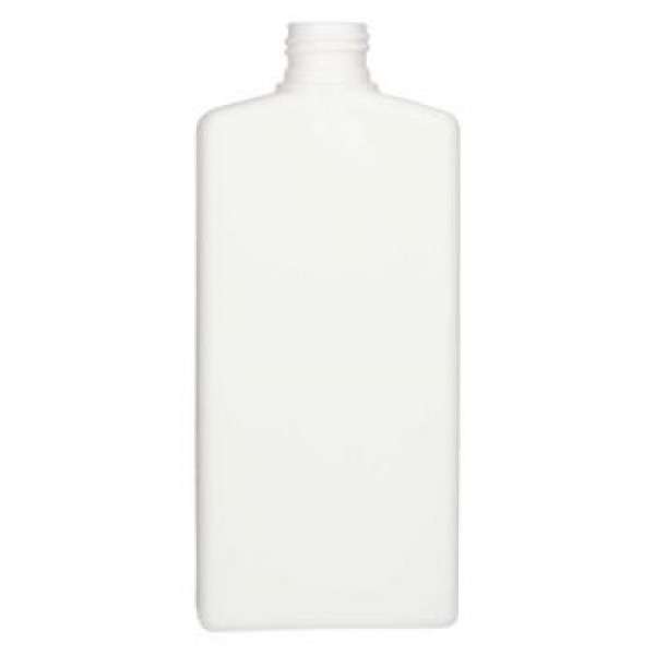 250 ml bottle Mailbox Rectangle HDPE white 24.410