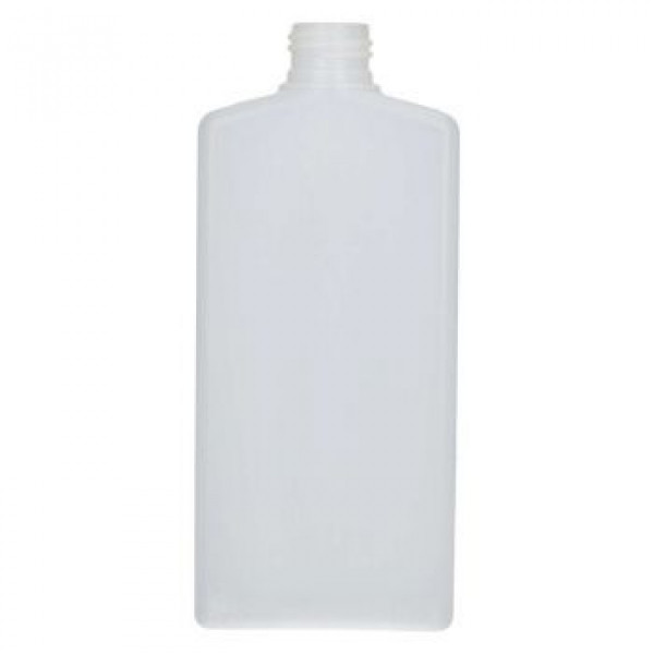 250 ml bottle Mailbox Rectangle HDPE natural 24.410