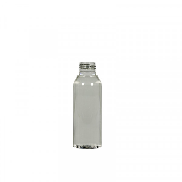 50 ml bottle Basic Round recycled PET transparent 24.410