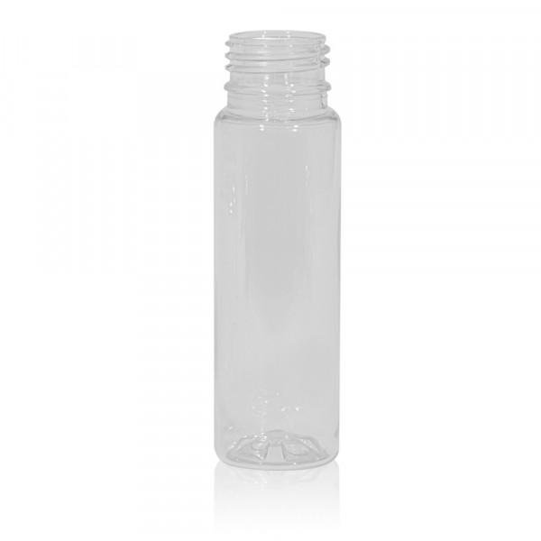 100 ml juice bottle Juice mini shot PET transparent 28PCO