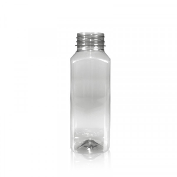 330 ml juice bottles Juice Square recycled R-PET clear