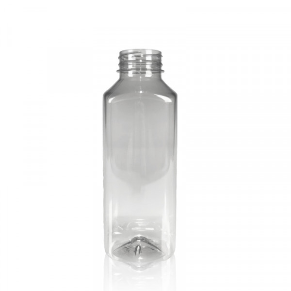 500 ml juice bottles Juice Square recycled R-PET clear