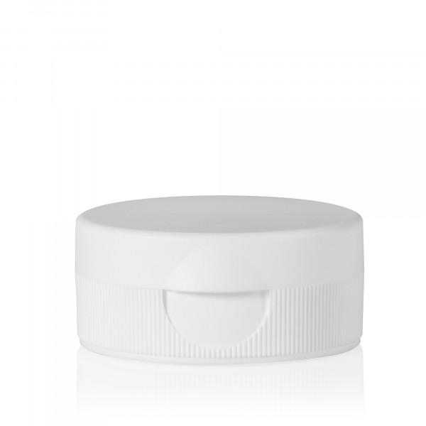 Fliptopcap + sealing membrane PP white 38.400