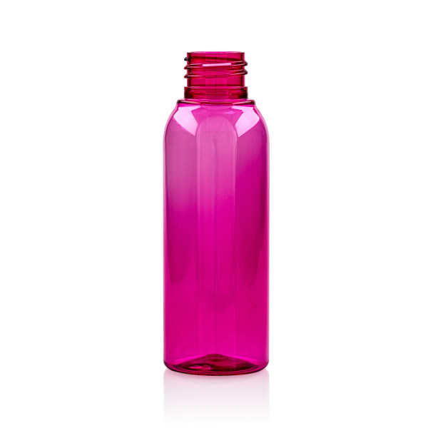 100 ml bottle Basic Round PET pink 24.410