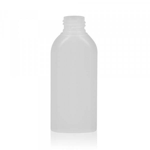 100 ml bottle Basic Oval HDPE natural 24.410