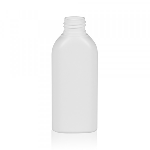 100 ml bottle Basic Oval HDPE white 24.410
