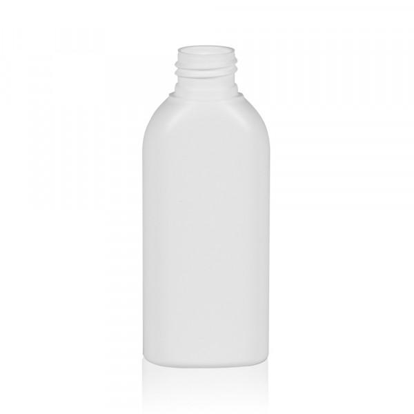100 ml bottle Basic Oval HDPE white 24.410