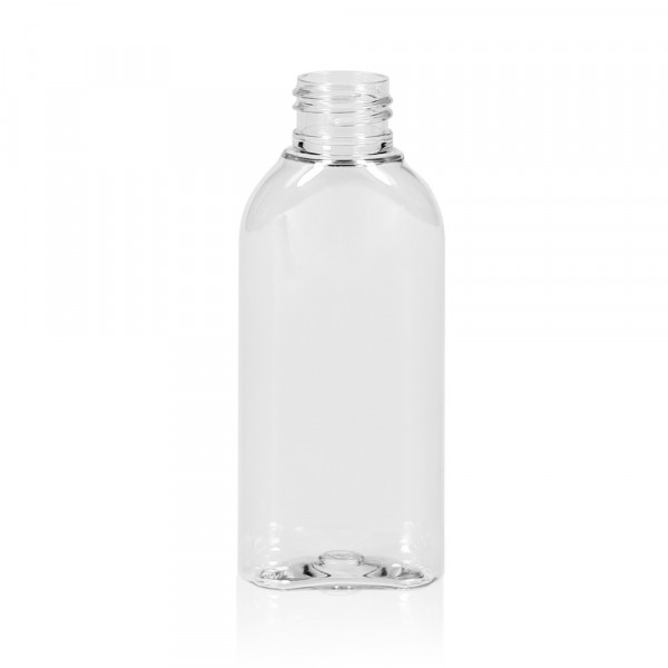 100 ml bottle Basic Oval PET transparent 24.410