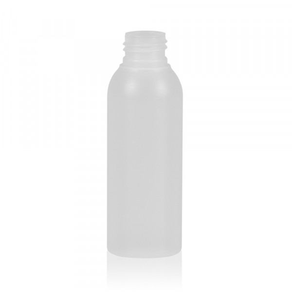 100 ml bottle Basic Round HDPE natural 24.410
