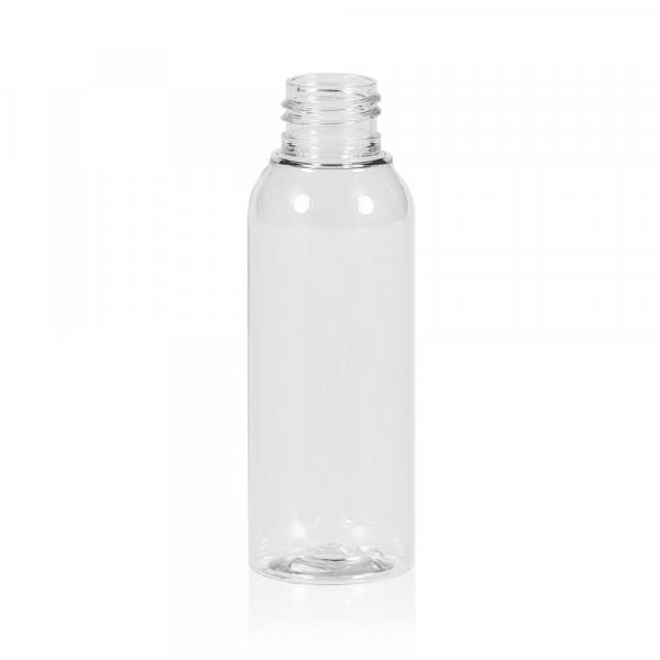 100 ml bottle Basic Round PET transparent 24.410