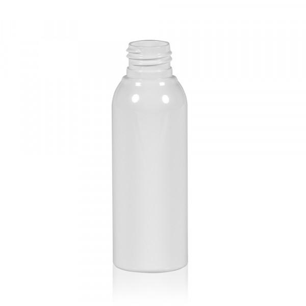 100 ml bottle Basic Round PET white 24.410