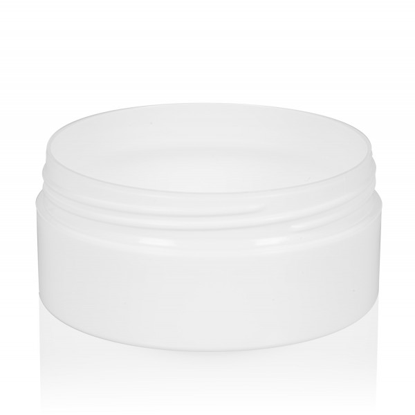 100 ml jar Glossy Sharp PP white