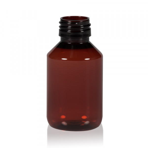 100 ml bottle Pharma PET brown 28.410