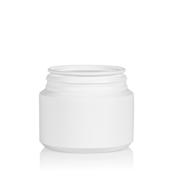 100 ml jar Pharma Cylinder HDPE white