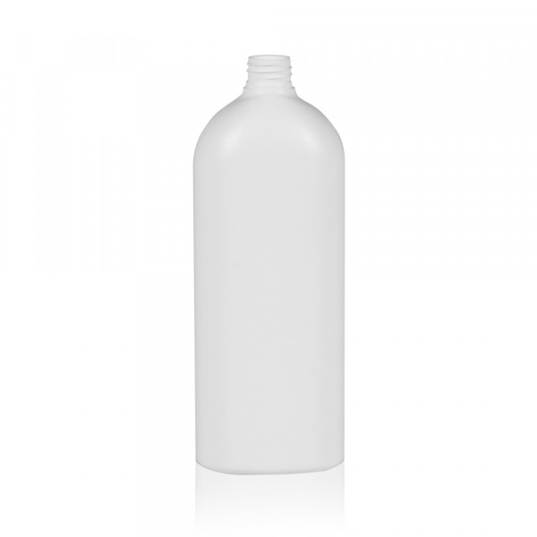 1000 ml bottle Basic Oval HDPE natural 28.410