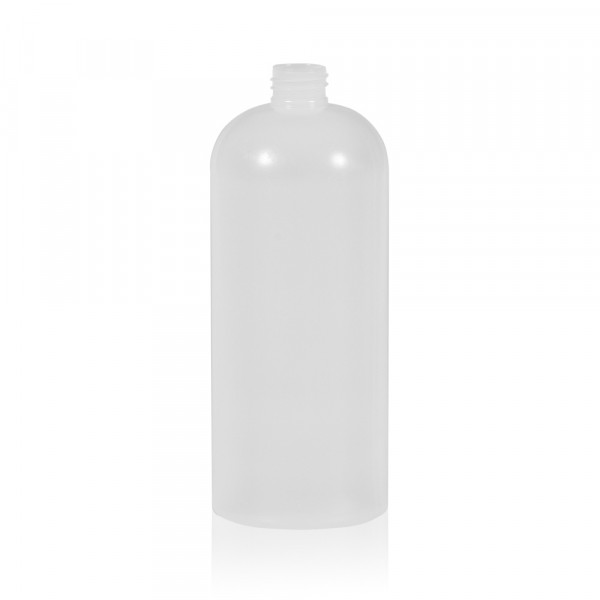 1000 ml bottle Basic Round HDPE natural 28.410