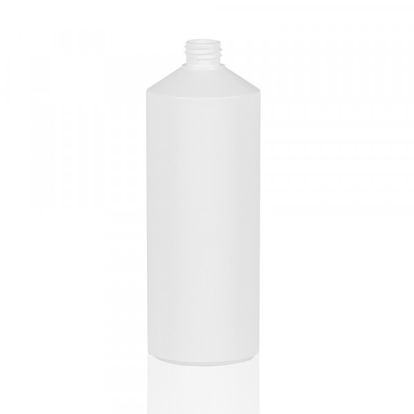 1000 ml bottle Combi HDPE white 28.410
