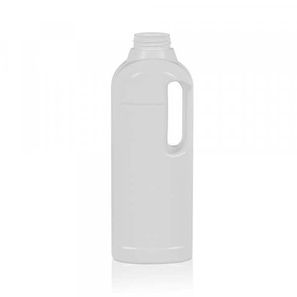 1000 ml bottle Multi HDPE white 567
