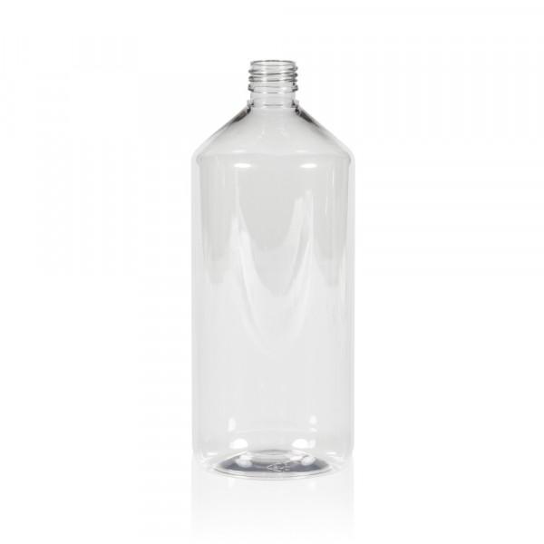 1000 ml bottle Pharma PET transparent 28.410