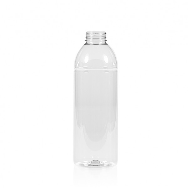 1000 ml juice bottle Smoothie PET transparent