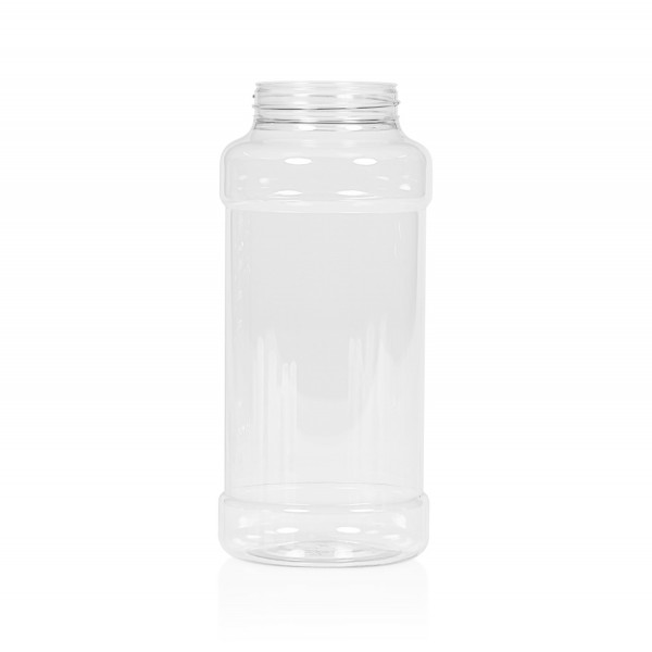 1000 ml Spice round PET transparent