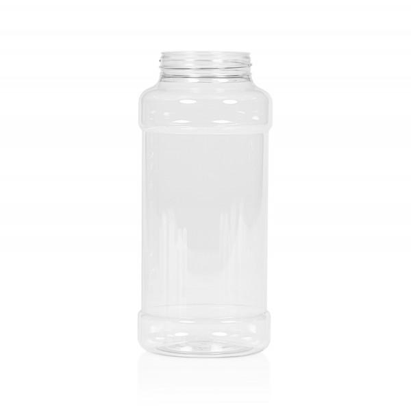 1000 ml Spice round PET transparent