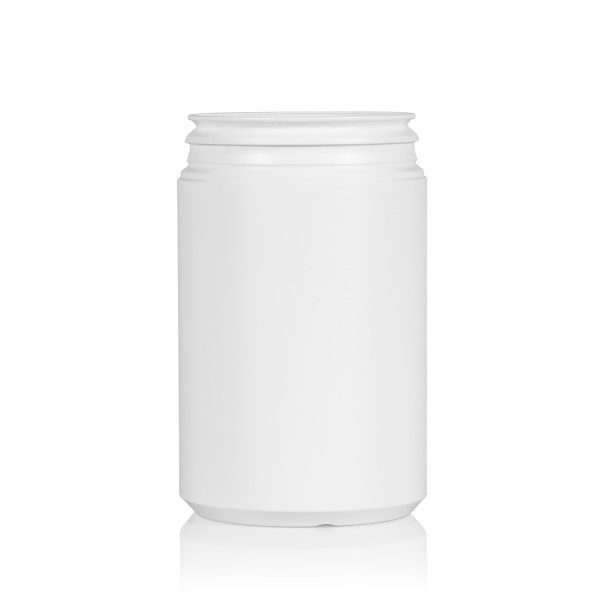 1000 ml Pharma cylinder HDPE white