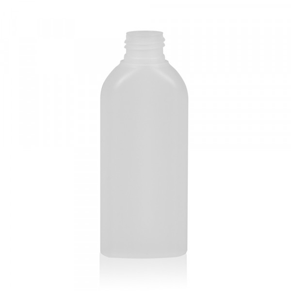 125 ml bottle Basic Oval HDPE natural 24.410