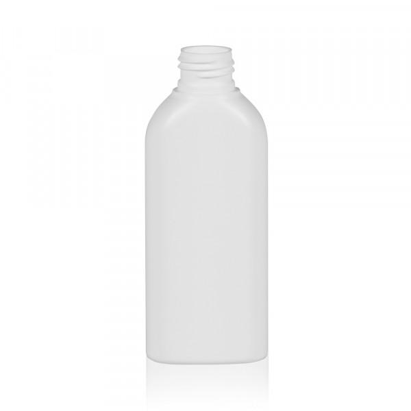 125 ml bottle Basic Oval HDPE white 24.410