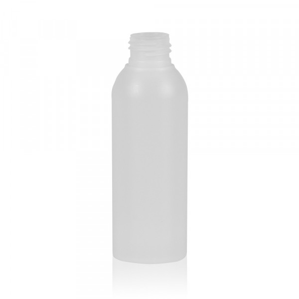 125 ml bottle Basic Round HDPE natural 24.410