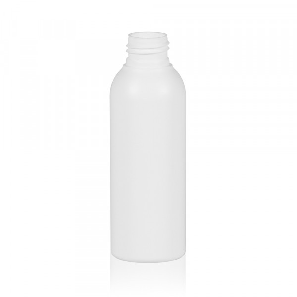 125 ml bottle Basic Round HDPE white 24.410