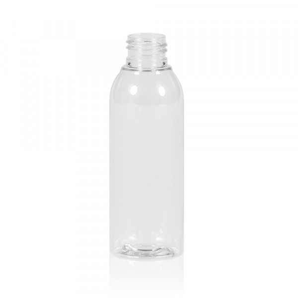 125 ml bottle Basic Round PET transparent 24.410