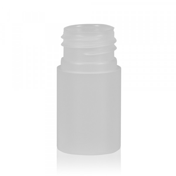 15 ml bottle Basic Round HDPE natural 24.410