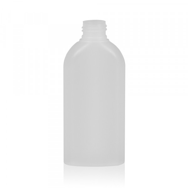 150 ml bottle Basic Oval HDPE natural 24.410