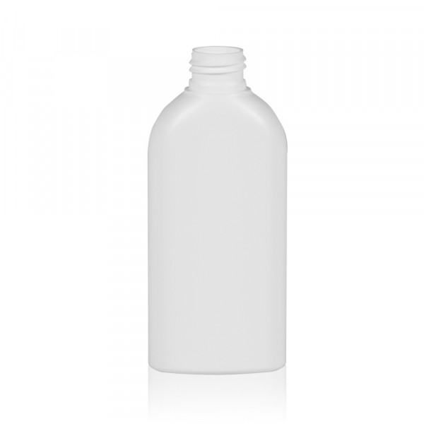 150 ml bottle Basic Oval HDPE white 24.410