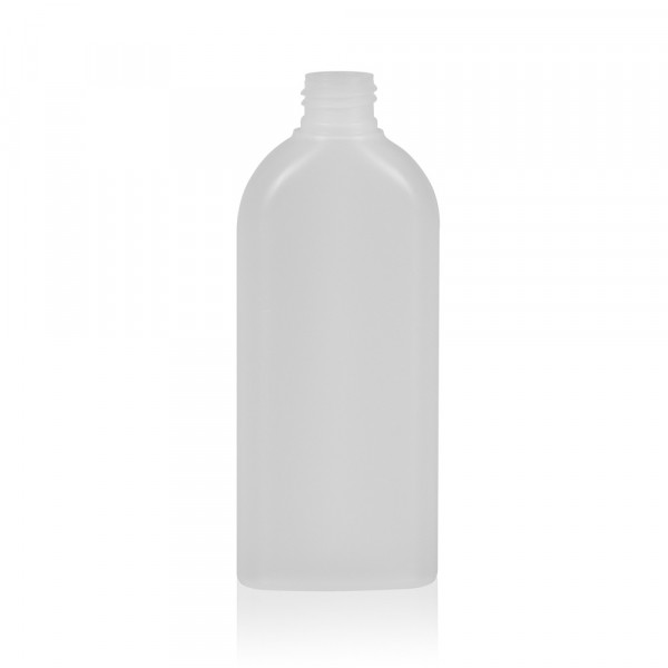 200 ml bottle Basic Oval HDPE natural 24.410
