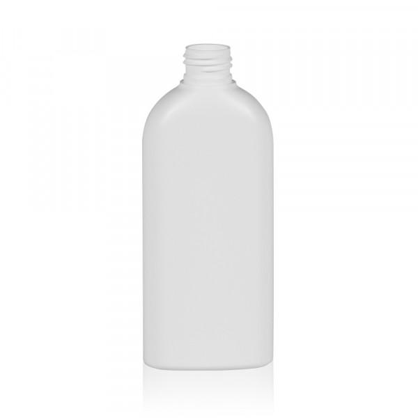 200 ml bottle Basic Oval HDPE white 24.410