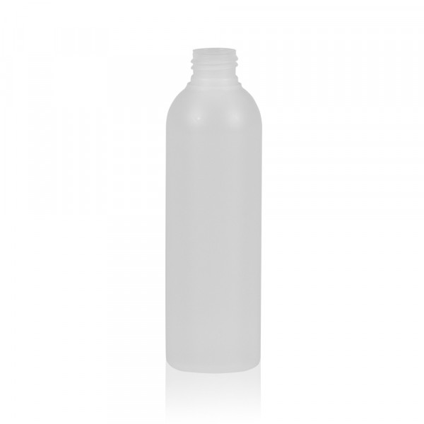 200 ml bottle Basic Round HDPE natural 24.410